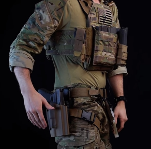 setup body armor