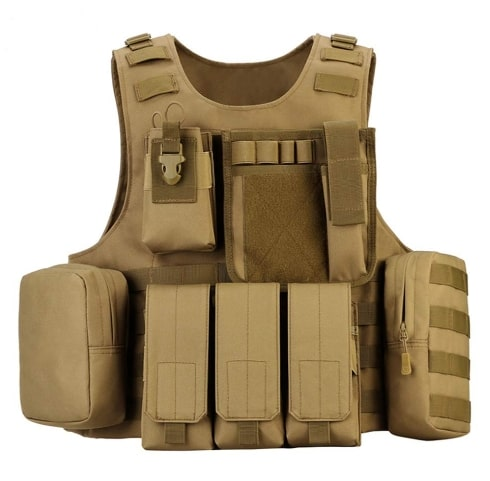 outdoor plus Tactical Vest for paintball and hunting