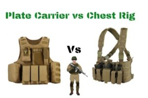 Difference between Plate Carrier Vs Chest Rig