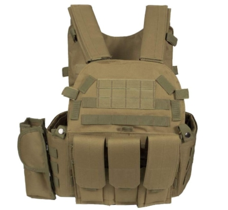 Men's Molle Tactical Military Chest Rig
