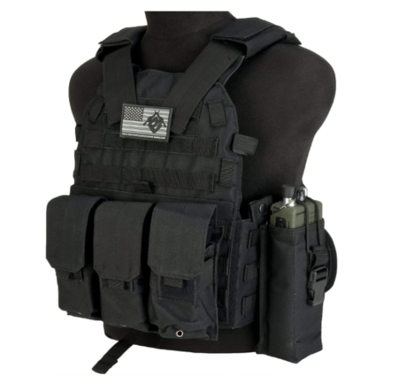 Bulletproof Evike - Avengers Airsoft Tactical Vest 6D9T4A w/Magazine & Radio Pouches