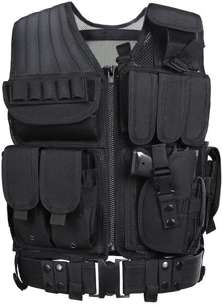 Lancer Tactical Cross Draw tactical chest rig