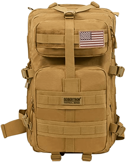 Seibertron Falcon Hiking Camping Backpack Compact plate carrier BagPack