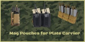 Top rated Molle Mag Pouches for Plate Carrier tactical vest