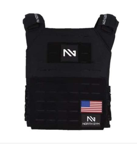North Gym Adjustable Weighted Vest