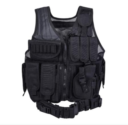 REEHUT Breathable Tactical Vest with Numerous Pouches - Combat Training Vest