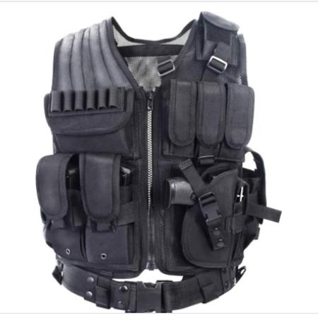 YAKEDA Tactical Vest Outdoor Ultra-Light Breathable Combat Training Vest