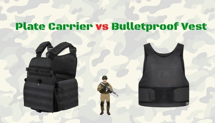 Difference between Bulletproof Vest vs Plate Carrier