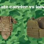 Plate carrier vs iotv (Improved Outer Tactical Vest)