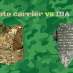 Plate carrier vs IBA (Interceptor Body Armor)